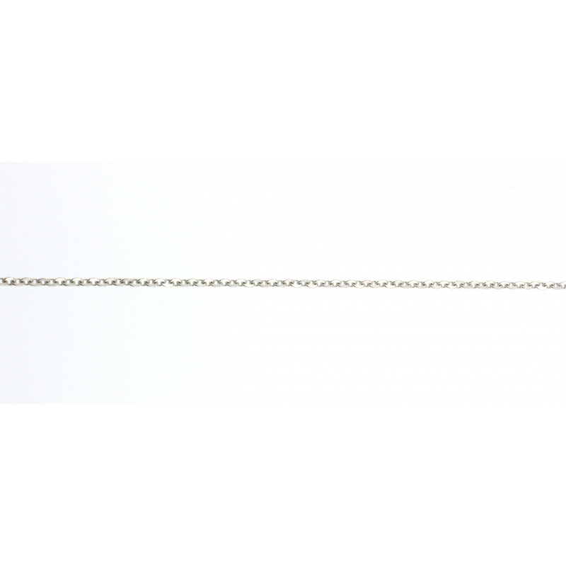 CHAIN 14K WHITE GOLD