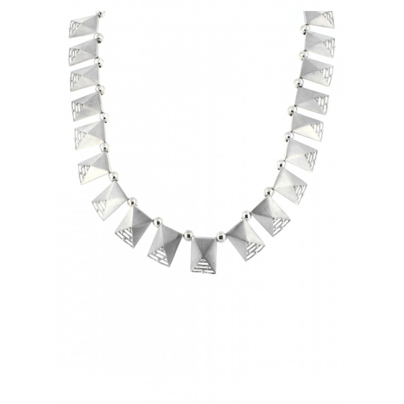NECKLACE SILVER 925 RHODIUM PLATED