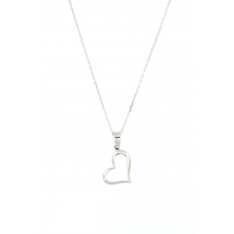 PENDANT 14K WHITE GOLD