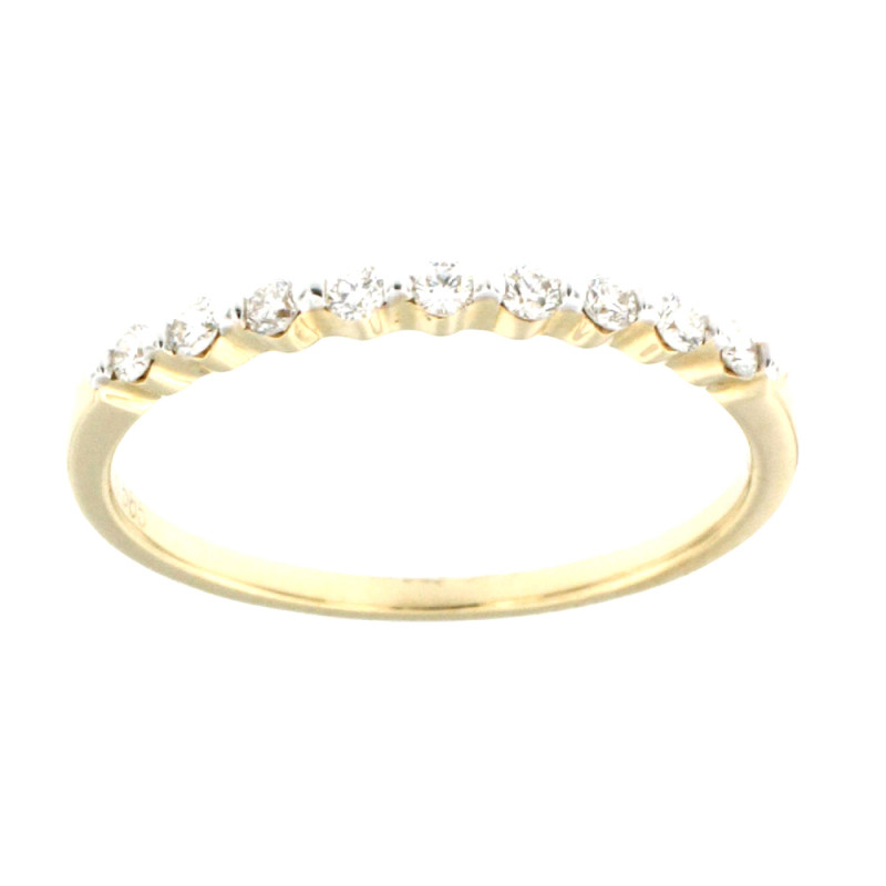 RING 14K GOLD WITH DIAMONDS